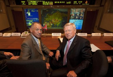 NASA and Russian Space Agency Administrators Meet