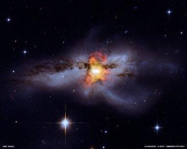 Black Holes Go 'Mano a Mano'