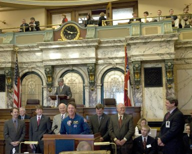 NASA Space Day in Mississippi - Senate