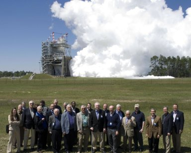 NASA Advisory Council visits Stennis