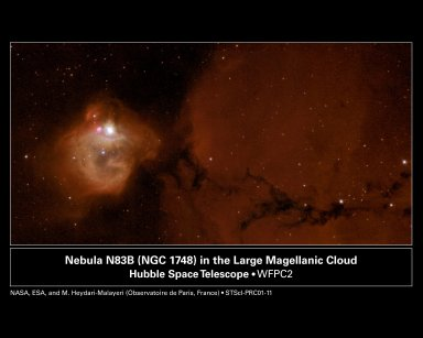 New Stars Destroying NGC 1748