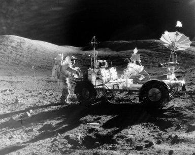 Apollo 17's Lunar Rover