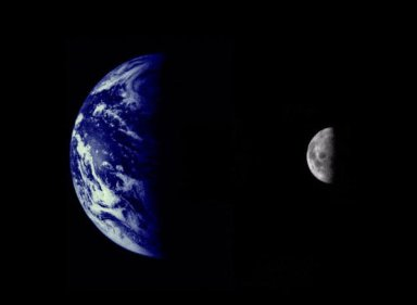 The Earth and Moon Planetary System