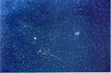 A Leonids Star Field