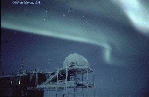 Aurora Over Antarctica