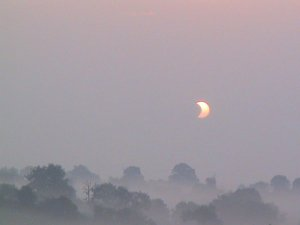 Eclipse in the Mist