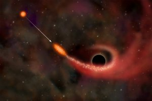 X-Rays Indicate Star Ripped Up by Black Hole