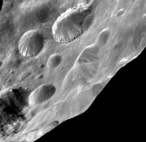 Unusual Layers on Saturn's Moon Phoebe