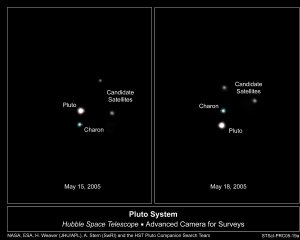 Possible Pluto Moons
