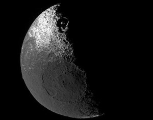 Dark Terrain on Saturn's Iapetus