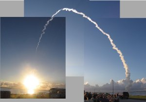 Dawn Launch Mosaic