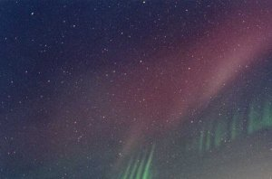 Rays from an Unexpected Aurora