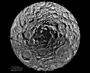 Shadow at the Lunar South Pole