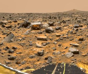 At Work on Mars