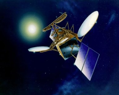 Advanced Communications Technology Satellite (ACTS) in Orbit