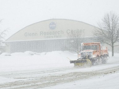 Snow at NASA Glenn