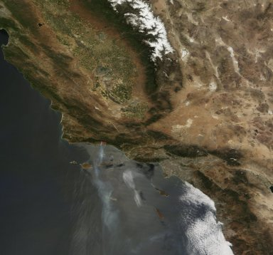 Jesusita Fire, California