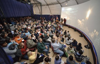 Kepler Launch Event at the Exploration Center