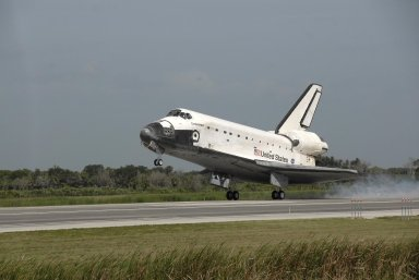Endeavour is Home