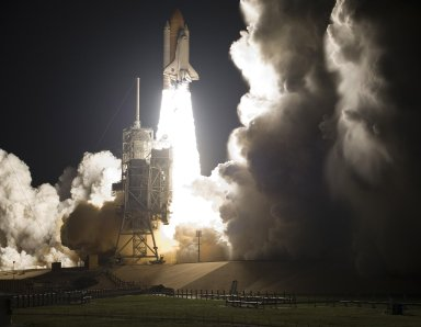 Discovery Soars off the Launch Pad