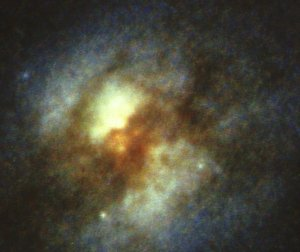 NASA's Hubble Space Telescope Uncovers a Starburst Galaxy