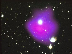 """Dark Matter Found in a """"Typical"""" Cluster of Galaxies"""