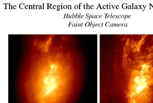 HST Reveals the Central Region of an Active Galaxy