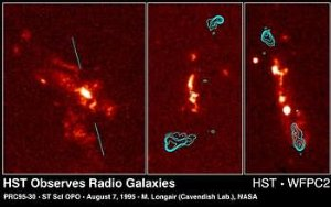 Hubble Uncovers Surprisingly Complex Structures in Radio Galaxies