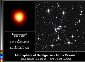 Hubble Space Telescope Captures First Direct Image of a Star