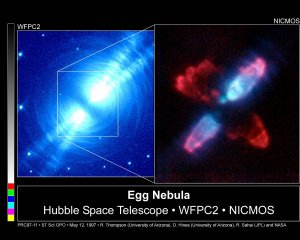 Hubble Peers into Heart of Dying Star