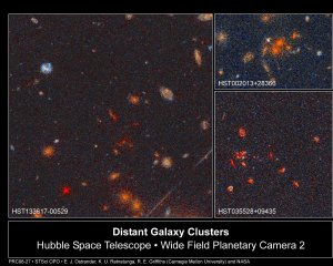 Far-Flung Galaxy Clusters May Reveal Fate of Universe