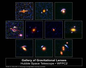 Natural Lenses in Space Stretch Hubble's View of the Universe