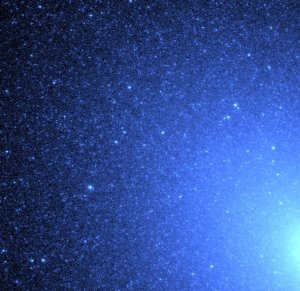 Hubble Identifies Source of Ultraviolet Light in an Old Galaxy