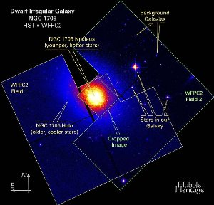 Hubble Resolves a Blaze of Stars in a Galaxy's Core