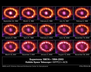 Supernova Shock Wave Is Producing a Spectacular New Light Show