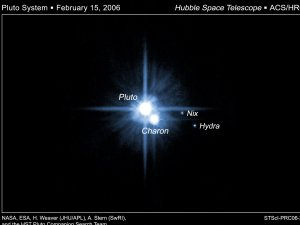 Pluto's Two Small Moons Officially Named Nix and Hydra