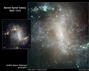 "Hubble Sees Star Cluster ""Infant Mortality"