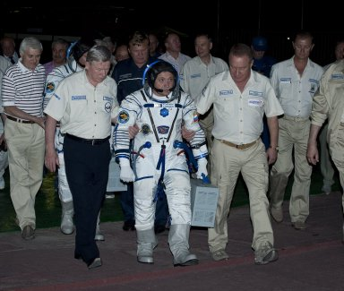Expedition 24 Launch Day