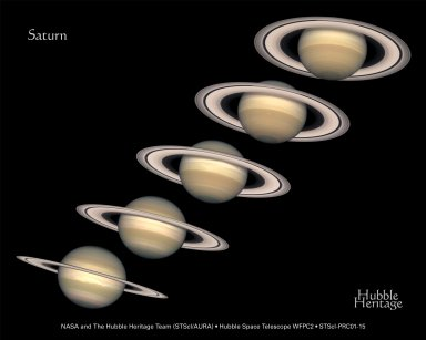 Hubble Planetary view of Saturn