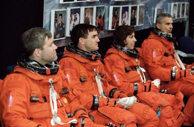 STS-110 Bailout Training