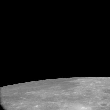 Apollo 11 Mission image - View of Moon,TO 67 and Crater Apollonius G