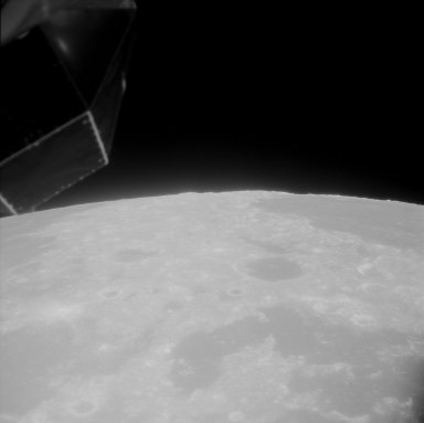 Apollo 11 Mission image - TO 66,partial coverage southeast of the Sea of Crisis