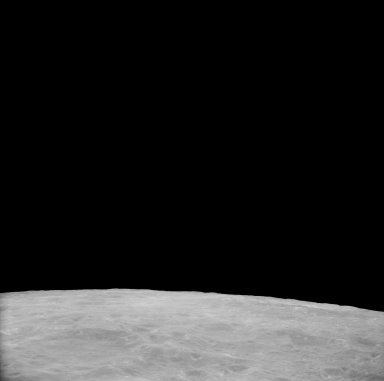 Apollo 11 Mission image - View of Moon,Crater 282 North of TO 43