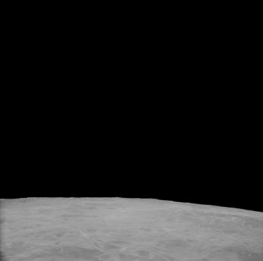 Apollo 11 Mission image - View of Moon,Crater 211, TO 46