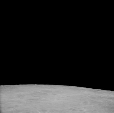 Apollo 11 Mission image - View of Moon,Crater 211,TO 46