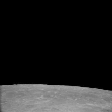 Apollo 11 Mission image - View of Moon,Craters 206,207,275,South of TO 50