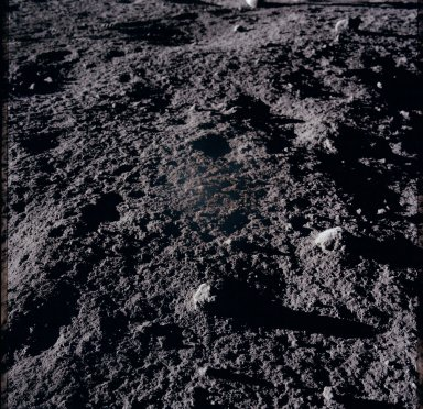 Apollo 12 Mission image - View of lunar surface