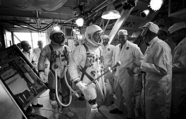 GT-9 TEST - ASTRONAUT EUGENE A. WHITE -- PERSONAL