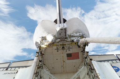View of ESP 3 in the Payload Bay of the Endeavour during STS-118