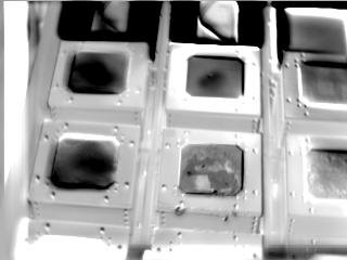 Infrared view of the RCC Test Article taken for DTO 851 during STS-121 / Expedition 13 joint operations
